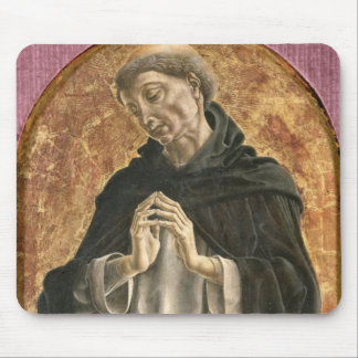 Saint Dominic (tempera on panel) Mouse Pad