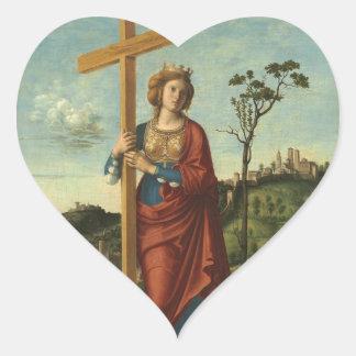 Saint Helena - Cima da Conegliano Heart Sticker