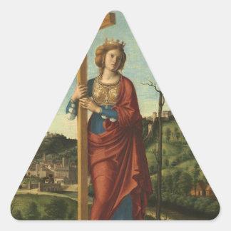 Saint Helena - Cima da Conegliano Triangle Sticker