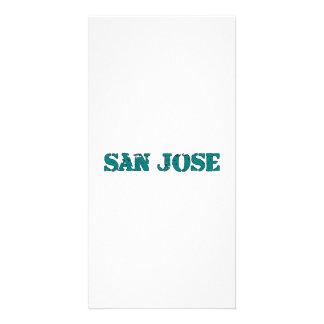 San Jose Personalized Photo Card