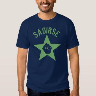Saoirse Iirsh Republican Army Logo Shirts
