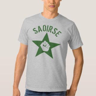 Saoirse Iirsh Republican Army Logo T-shirt