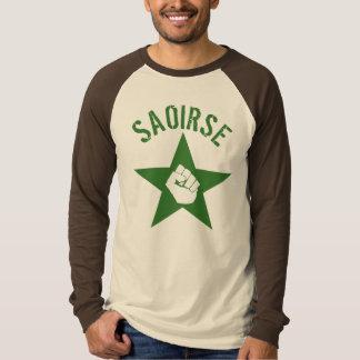 Saoirse Iirsh Republican Army Logo T Shirt