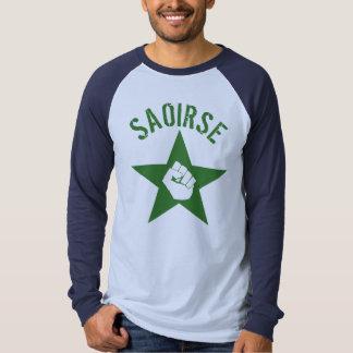 Saoirse Iirsh Republican Army Logo T Shirts