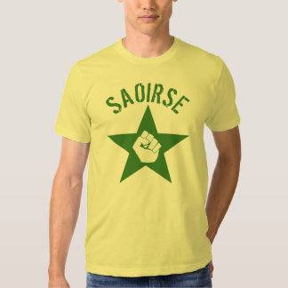 Saoirse Iirsh Republican Army Logo Tee Shirts