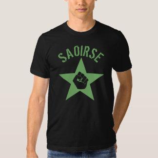 Saoirse Iirsh Republican Army Logo Tshirts