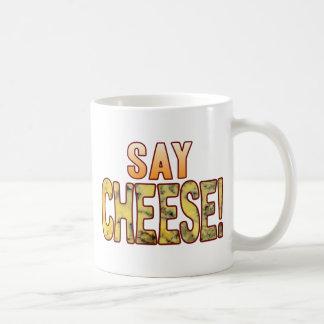 Say Blue Cheese Classic White Coffee Mug
