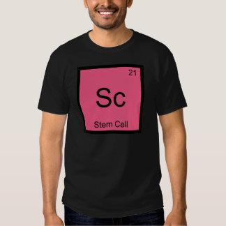 Sc - Stem Cell Funny Chemistry Element Symbol Tee
