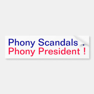 Scandals Bumper Sticker