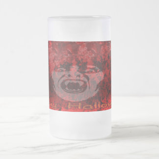 Scary Vampire Lady in Blood Frosty Mug