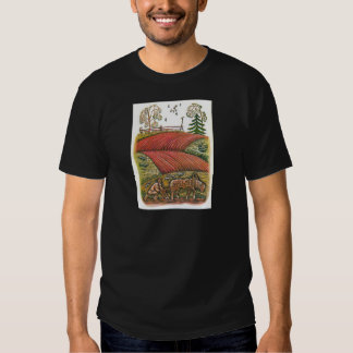 Scenes from Aesop's fables T-shirts