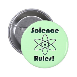 Science Rules 2 Inch Round Button