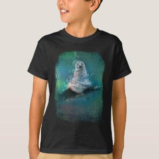 Scuba Seal Shark Life Funny Tshirt