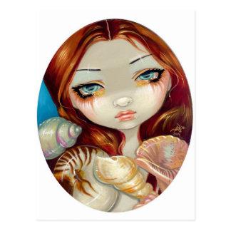 """""""Seashell Beauty"""" Postcard"""