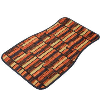 Seventies Wet Bar Basement Wallpaper Floor Mat