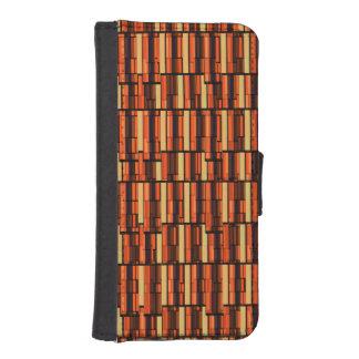 Seventies Wet Bar Basement Wallpaper Phone Wallet Case