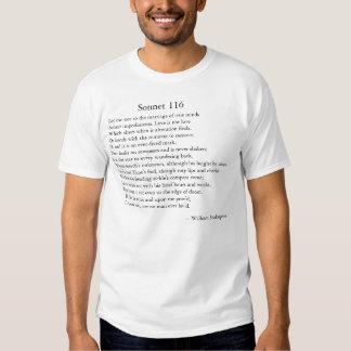 Shakespeare Sonnet 116 T-shirt