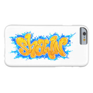 SHAWN graffitis sorte nom - Coque iPhone 6 Barely There