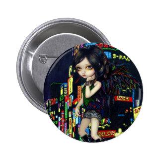 """""""Shinjuku Angel"""" Button"""