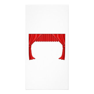 Show Curtain Custom Photo Card