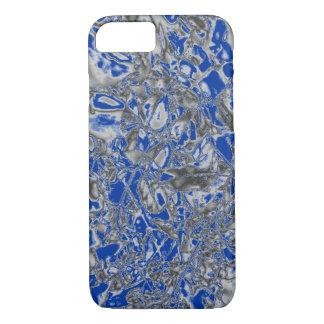 Silver/Blue design slim lightweight iPhone 7 case