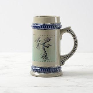 Simple Heron Mug