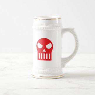 Simple Skull 18 Oz Beer Stein