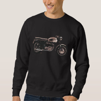 Simply Beautiful Classic Motorcycle Pull Over Sweatshirts