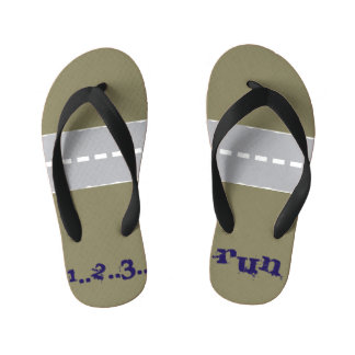 simply cool kid's flip flops