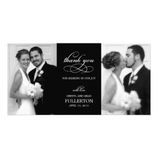 Simply Pretty Wedding Thank You Photo Cards