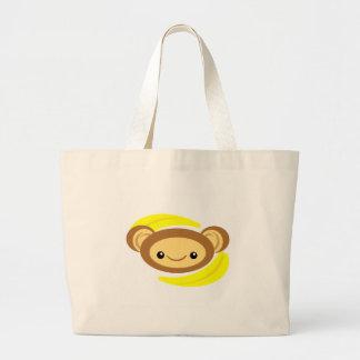 Singe de banane sac en toile jumbo