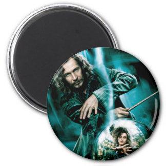Sirius Black and Bellatrix Lestrange 2 Inch Round Magnet