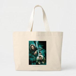 Sirius Black and Bellatrix Lestrange Jumbo Tote Bag