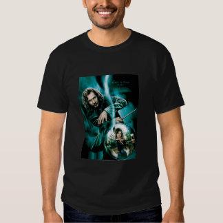 Sirius Black and Bellatrix Lestrange T-shirts