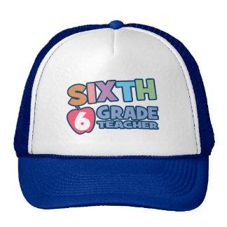 Sixth Grade Teacher Trucker Hat
