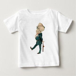 Skeletal Officer T Shirts