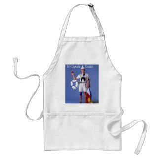 Skip Sayles™_My Captain Cooks! chef apron