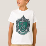 Slytherin Crest Green T-shirts
