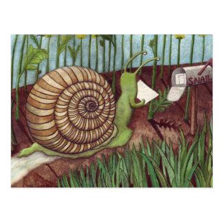 Snail mail cartes postales