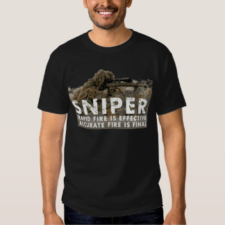 Sniper - Accurate Fire is Final Tee Shirt