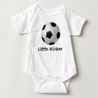 Soccer Design Customizable Baby Clothing Tee Shirts