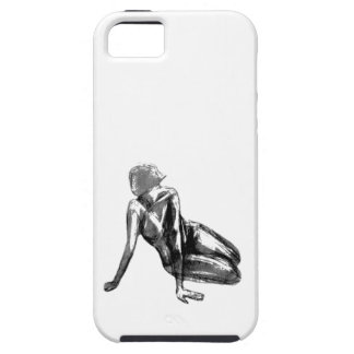 """""""Softly"""" Phone Case, Original Art by Matthew Share iPhone 5 Cases"""