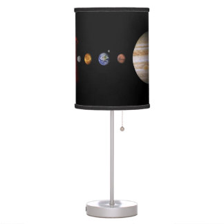Solar System In-Line Outer Space Table Lamp