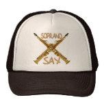 Soprano Sax Trucker Hat