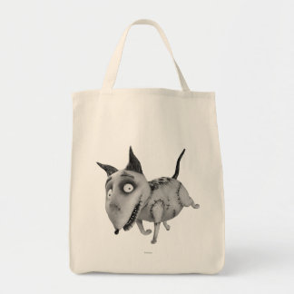 Sparky Running Grocery Tote Bag