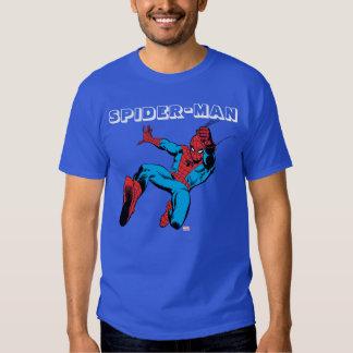 Spider-Man Retro Swinging Kick Tee Shirt