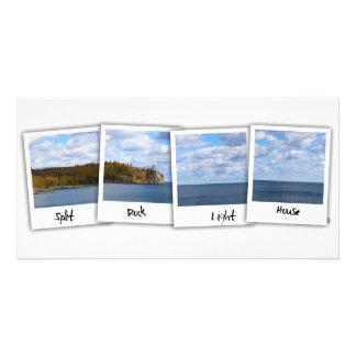 Split Rock Lighthouse (Polaroid Film) Photo Cards
