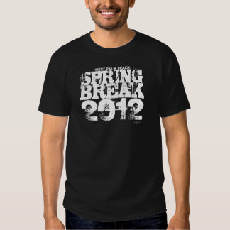 Spring Break 2012 West Palm Beach T-Shirt