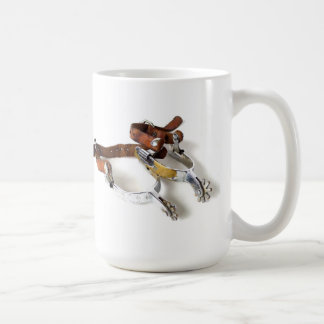 SPURS & HAT COFFEE MUG