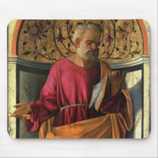 St. Peter (tempera on canvas) Mouse Pad